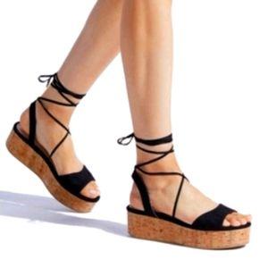 Daeleen-Platform sandals